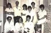 Szent János Kórház kollektívája 1982.